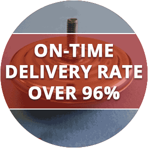 On-Time Delivery 93%